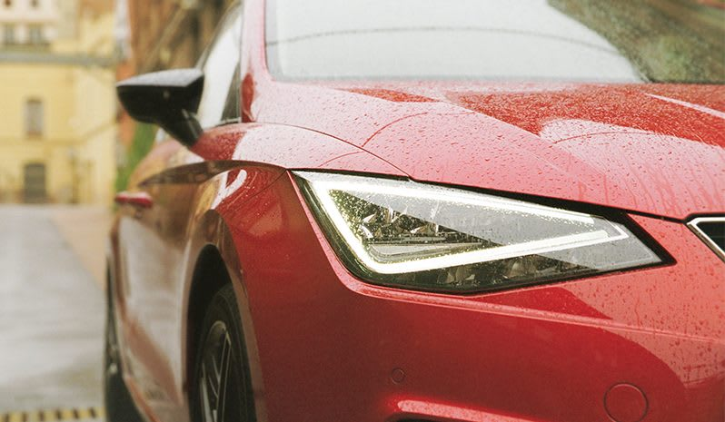 New SEAT Ibiza detailed front