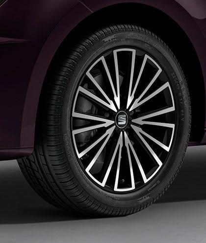 SEAT Leon ST 17 alloy wheels