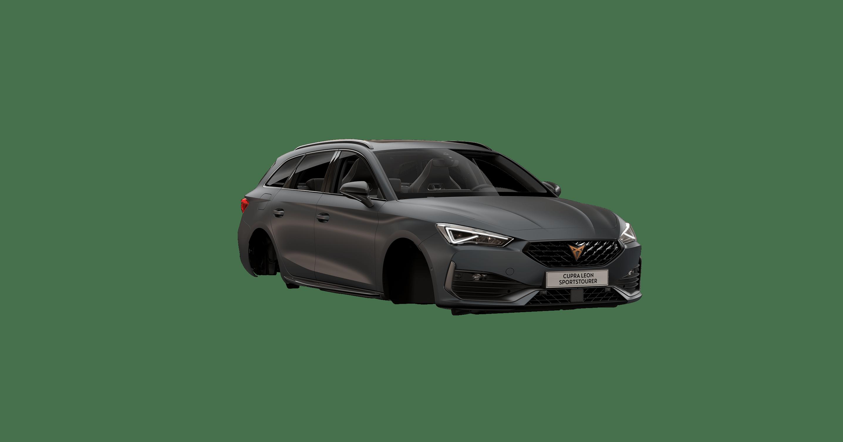 new CUPRA Leon Sportstourer ehybrid Family Sports Car available in magnetic tech matte colour