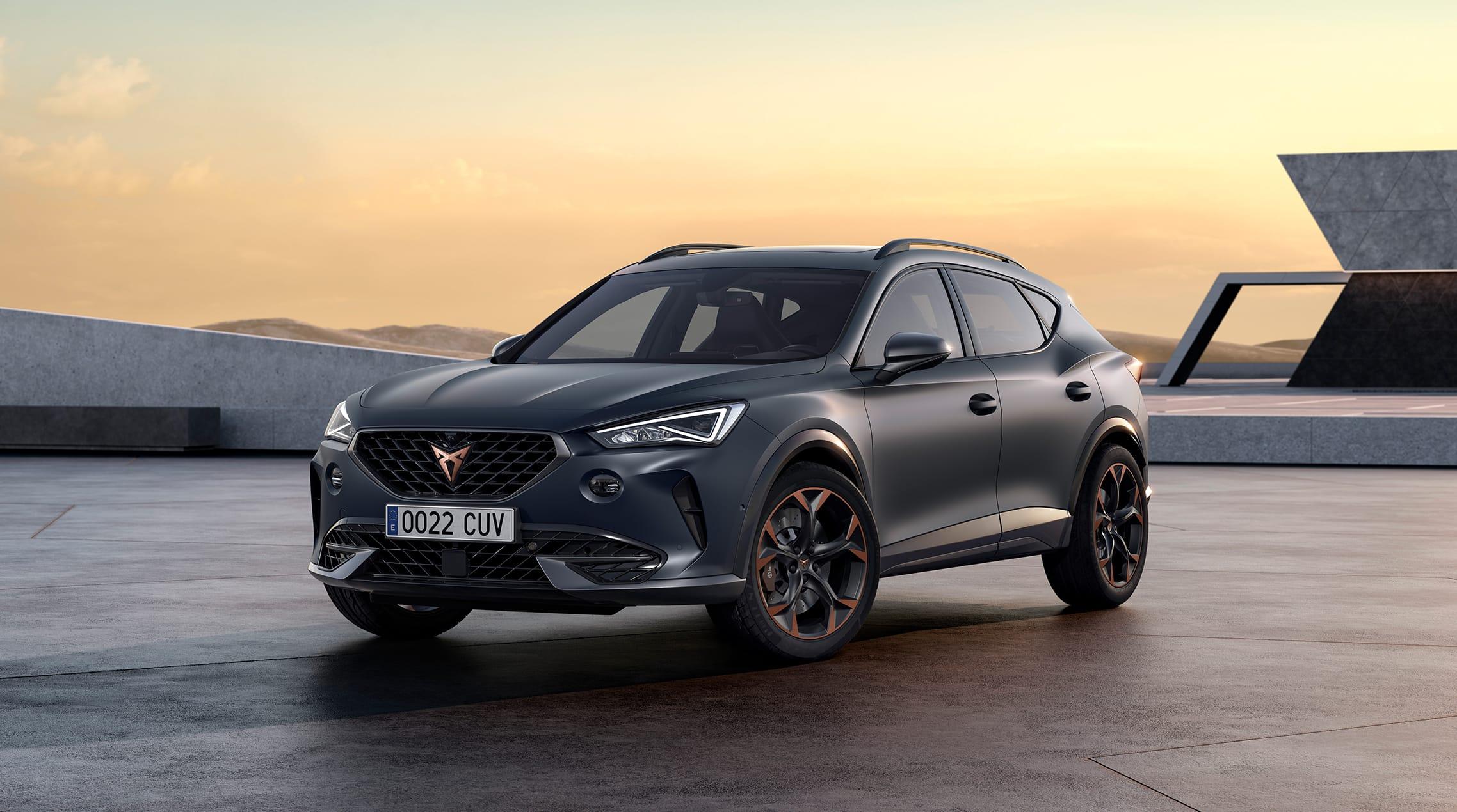 new cupra formentor suv coupe high performance 1.4 tsi e-hybrid phev with 245 horsepower