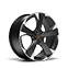 """new CUPRA Leon ehybrid five door compact sports car available with 18"""" Machined Alloy wheels in Sport Black and Silver"""