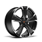 """new CUPRA Leon ehybrid five door compact sports car available with 19"""" Machined Alloy wheels in Sport Black and Silver"""