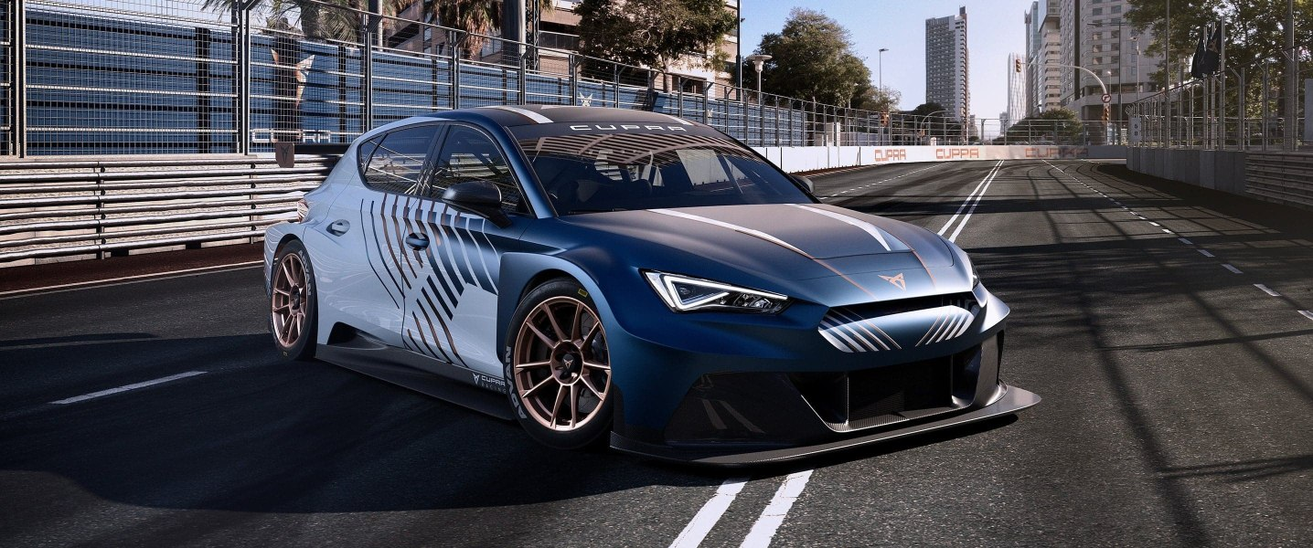 La nuova CUPRA Leon e-Racer
