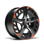 """new CUPRA Leon ehybrid five door compact sports car available with 19"""" Aero wheels in Sport Black and Copper"""