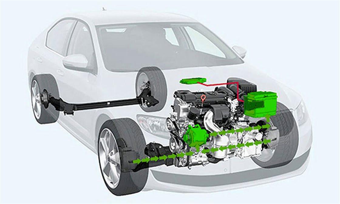 Bremsenergie-Rückgewinnung