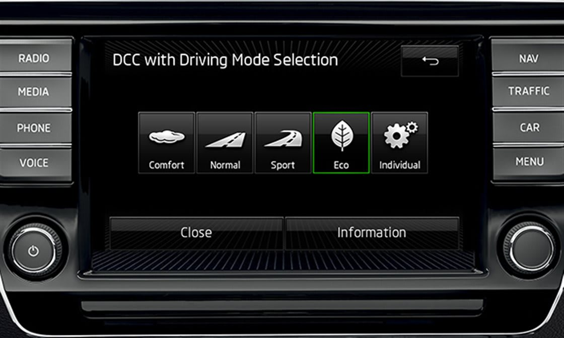 Mode Eco (Driving Mode Selection)