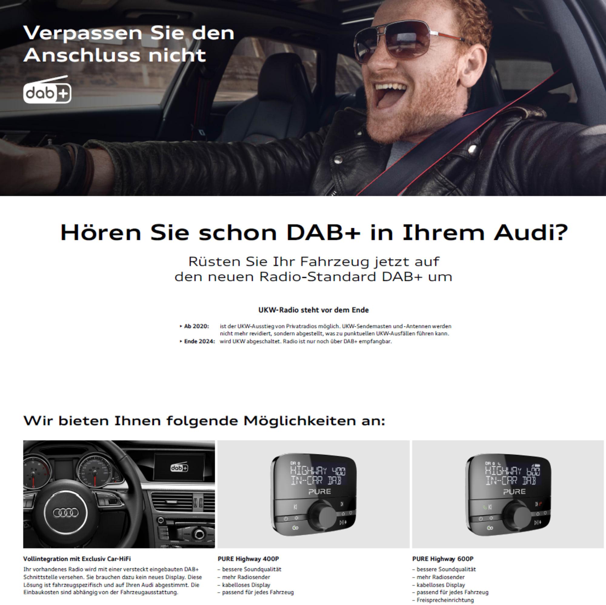 Audi DAB+ neu