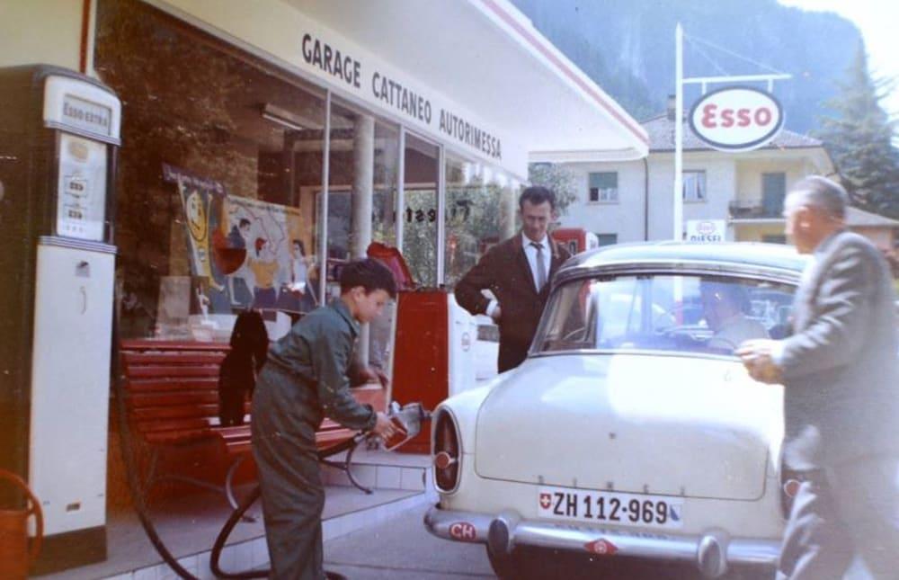Silvano pompa benzina 1961