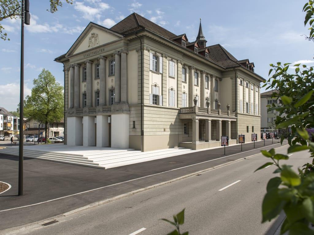 Aussenansicht Stadttheater Langenthal