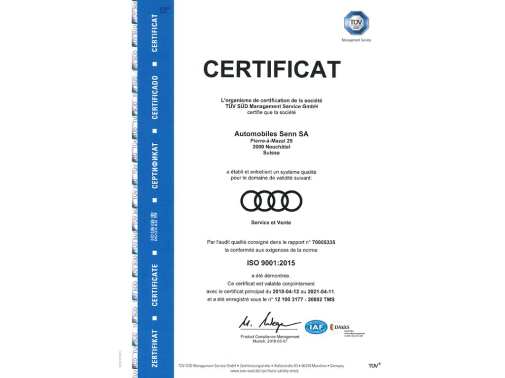 ISO AUDI
