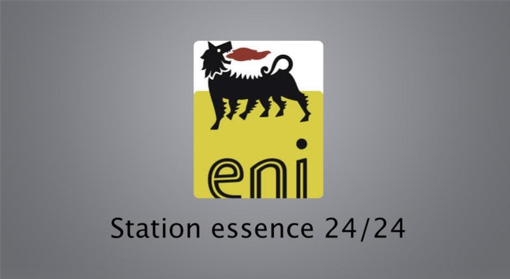 Station essence ENI