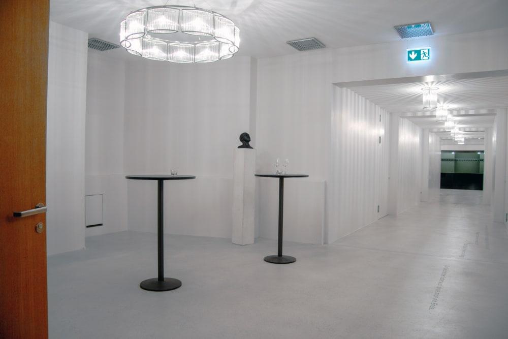 Kleines Foyer vor Theater 49