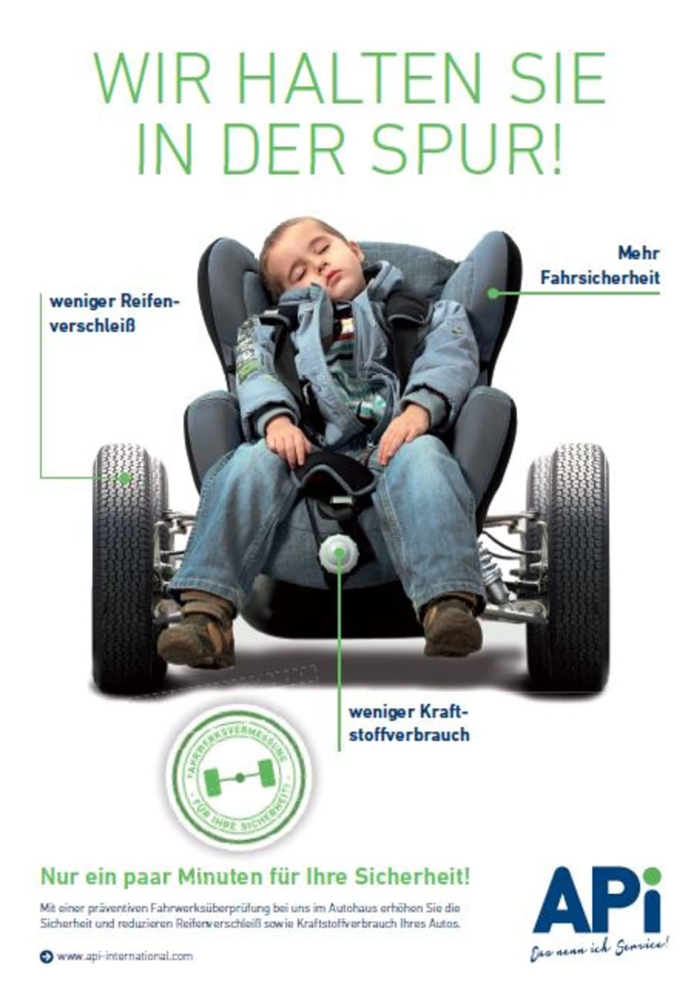 Bild Poster Kindersitz