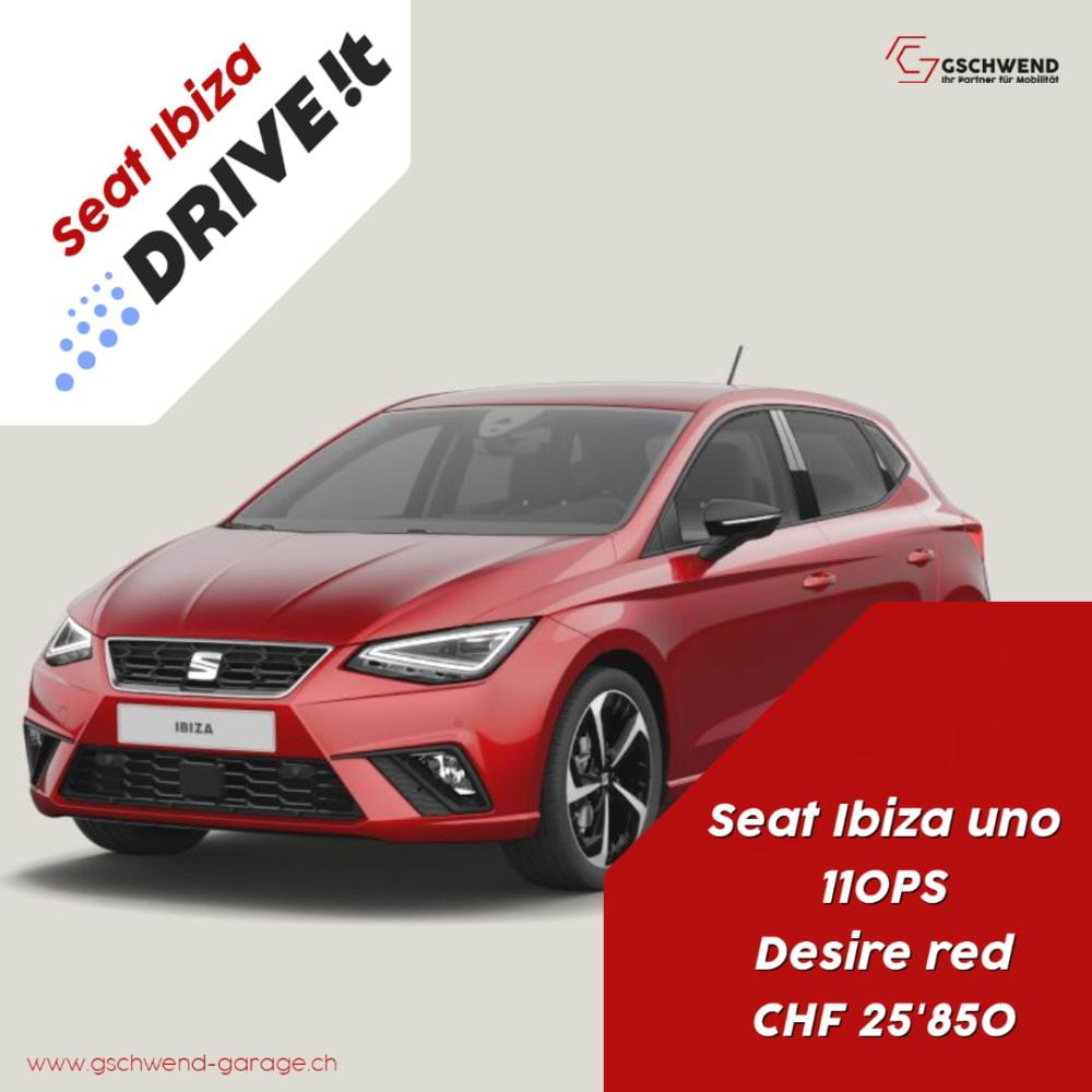 Drive it, uno, desire red