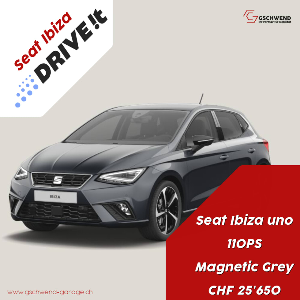 Drive it, uno, Magnetic Grey