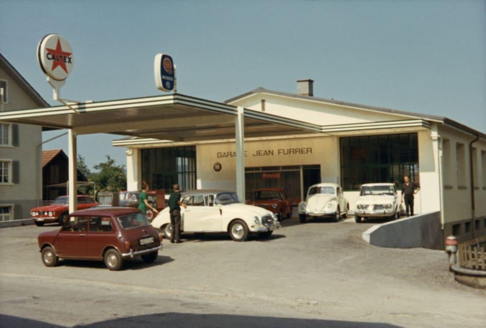 061-Furrer Hans-544 Garage Jean Furrer Ende 1960iger Jahre