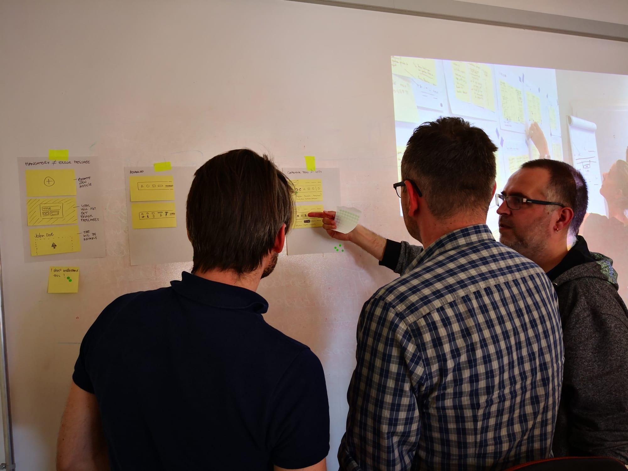 Agiles Vorgehen für den Design und UX Prozess.