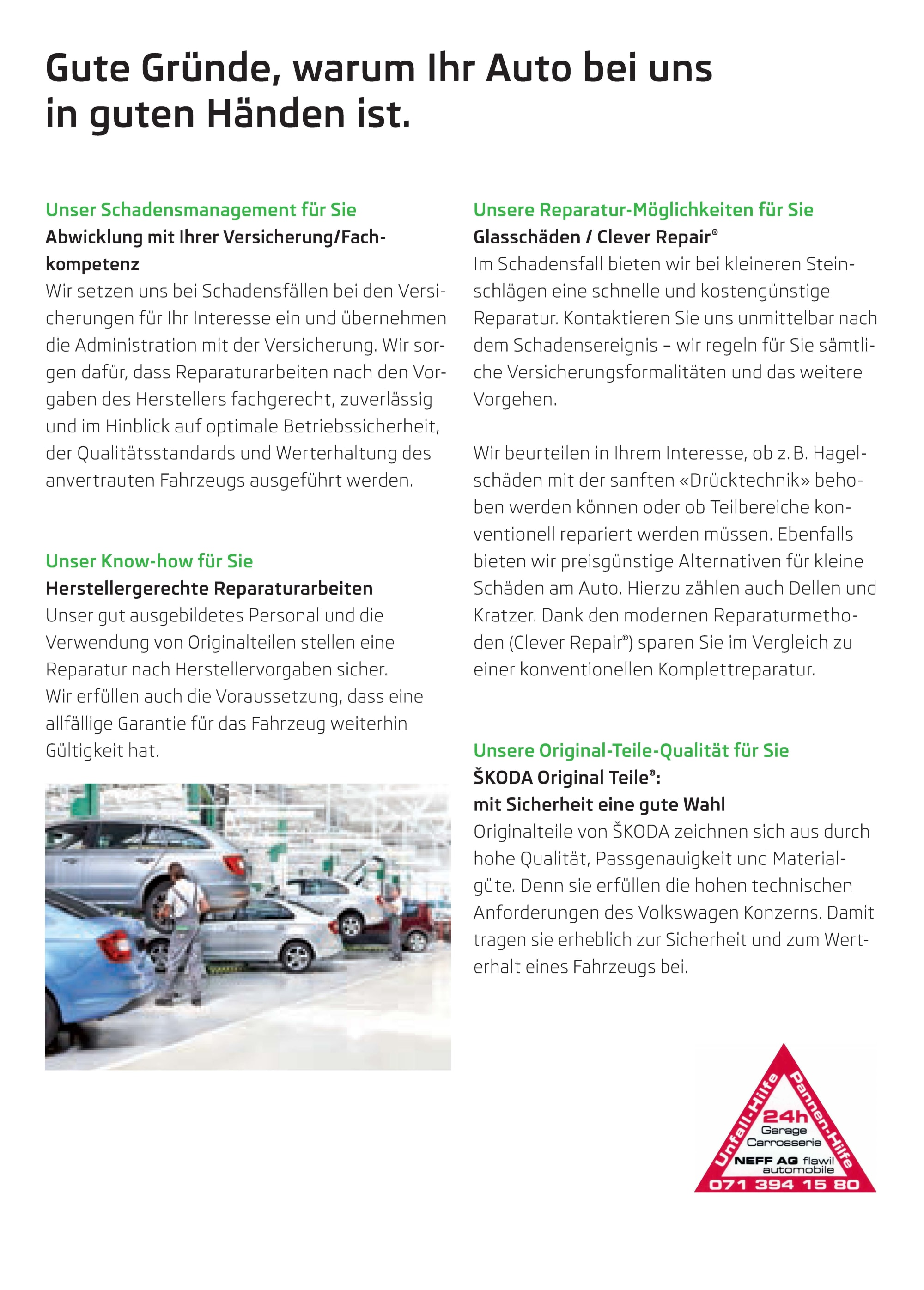 Pannen- und Unfallmanagement NEFF AG Webseite_Seite_4