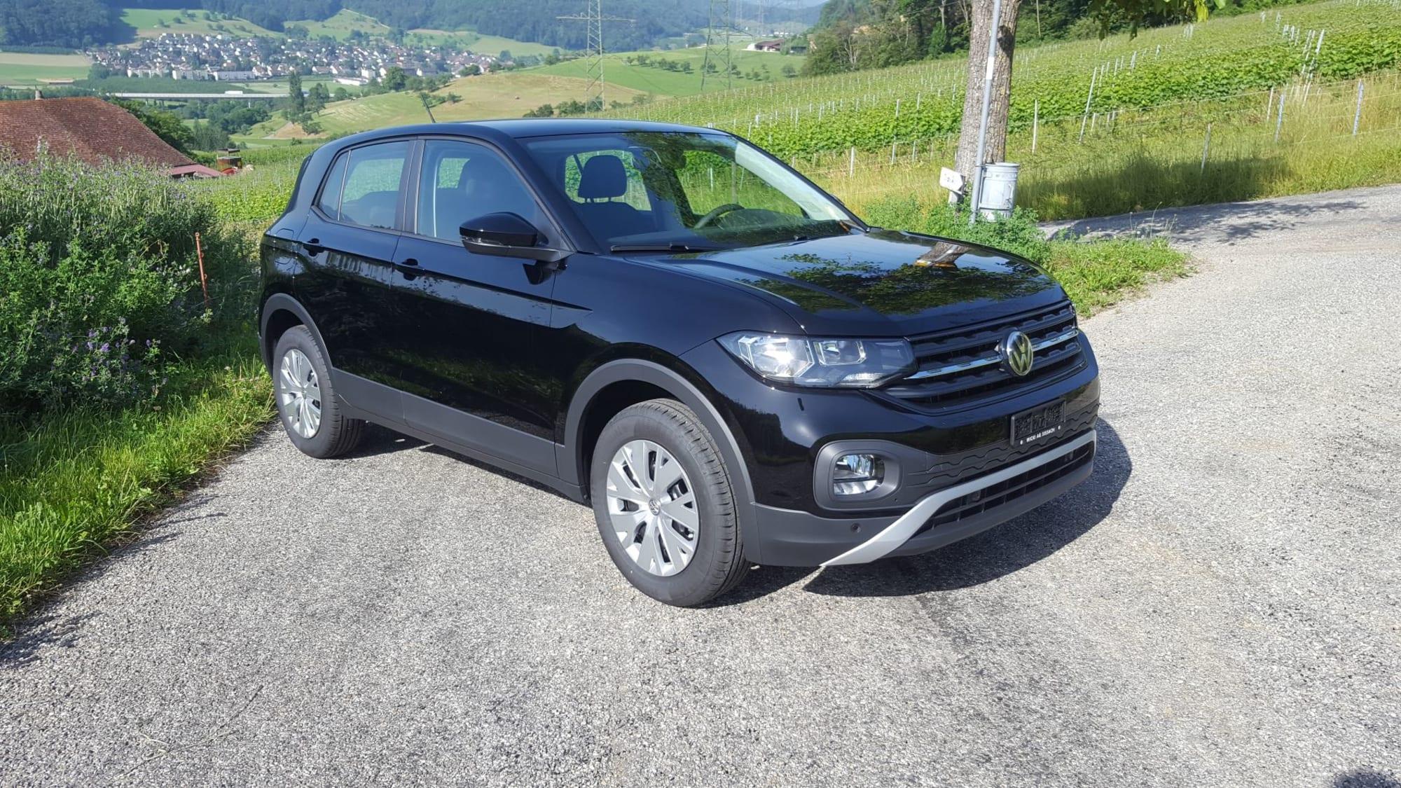 VW T-Cross schwarz