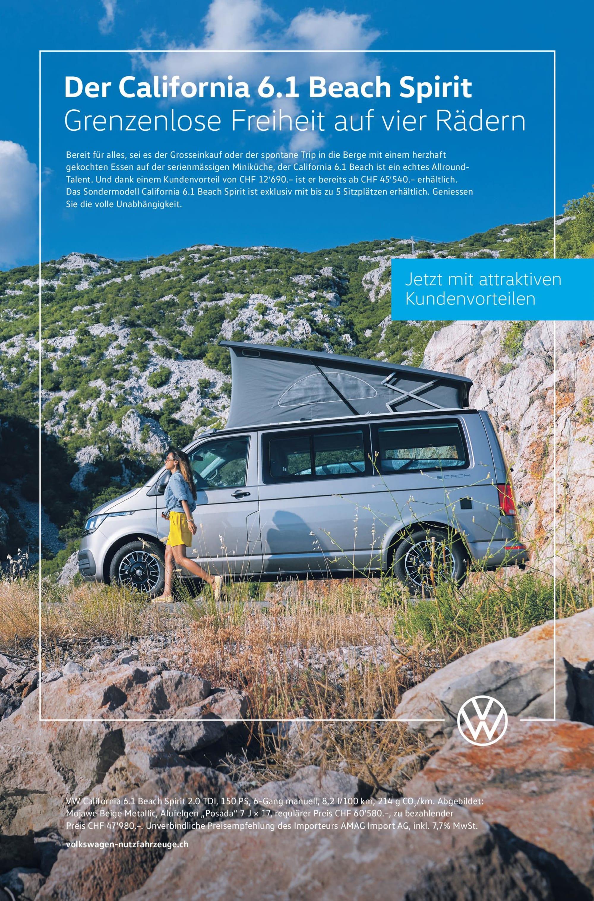 VW T6.1 Cali Beach Liberty Spirit