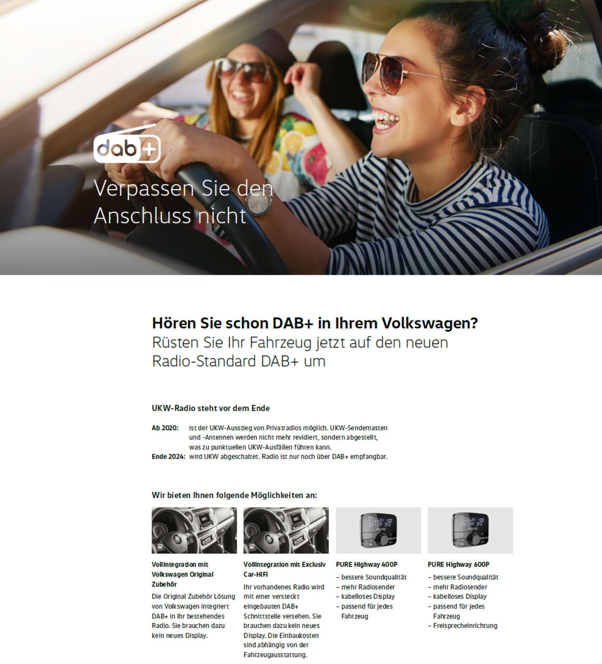 DAB+ VW