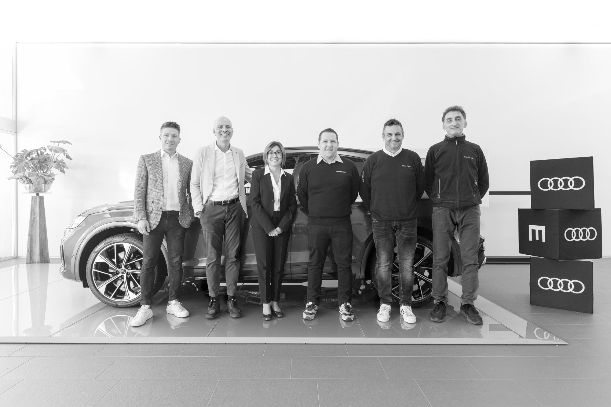 Audi Vendita team-0903