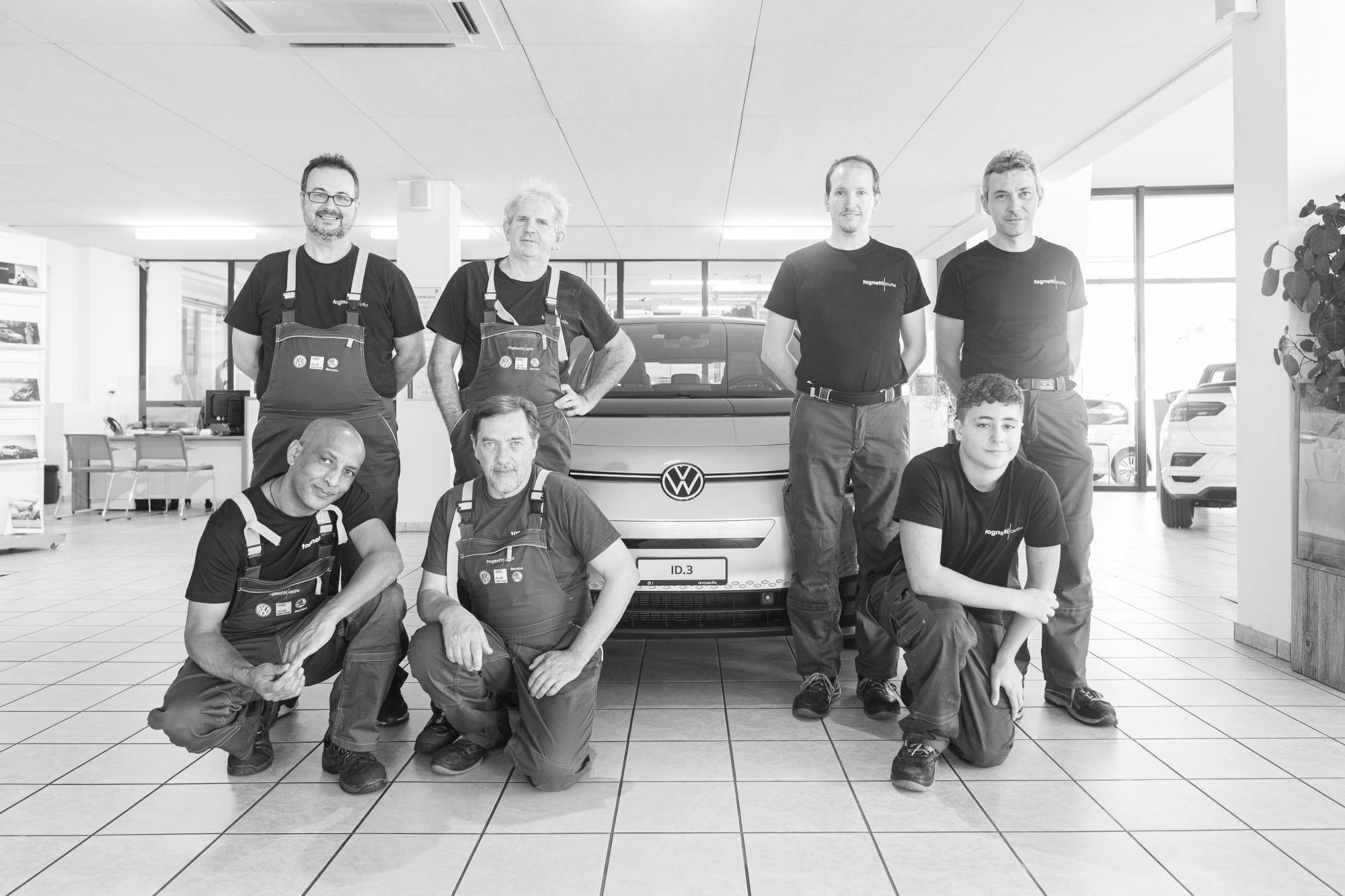 VW Ascona officina team-0908