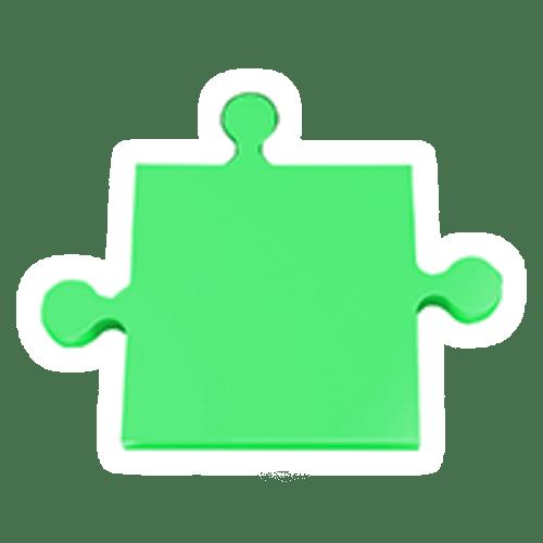 puzzle-gruen
